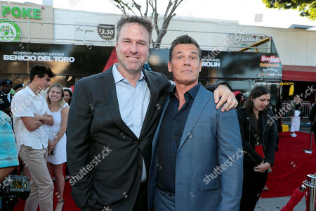 Basil Iwanyk, Producer, and Josh Brolin