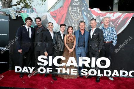 Benicio Del Toro, Manuel Garcia-Rulfo, Bruno Bichir, Elijah Rodriguez, Isabela Moner, Josh Brolin, Jeffrey Donovan and Matthew Modine