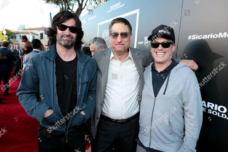 Pete Yorn, Tom Rothman, Chairman, Sony Pictures Entertainment Motion Picture Group, and Rick Yorn