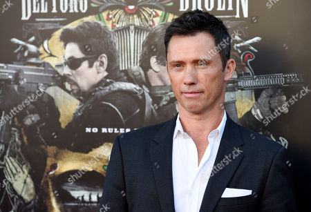 "Jeffrey Donovan poses at the premiere of the film ""Sicario: Day of the Soldado,"" at the Westwood Regency Theatre, in Los Angeles"