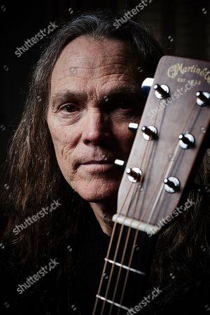 Stock Photo of London United Kingdom - February 6: Portrait Of American Musician Timothy B. Schmit Bassist And Vocalist With Rock Group The Eagles Photographed At Claridges In London On February 6