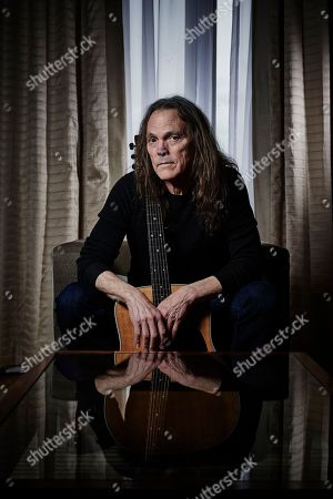 London United Kingdom - February 6: Portrait Of American Musician Timothy B. Schmit Bassist And Vocalist With Rock Group The Eagles Photographed At Claridges In London On February 6