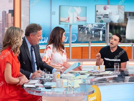 Piers Morgan, Susanna Reid, Joey Carbstrong