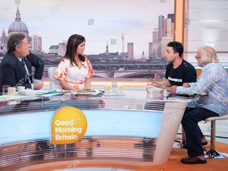 Piers Morgan, Susanna Reid, Joey Carbstrong and Antony Worrall Thompson