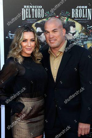 Stock Photo of Amber Nicole Miller and Tito Ortiz