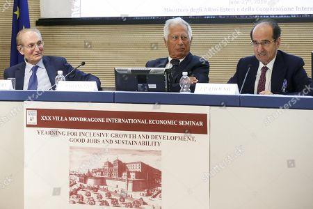 Jean Paul Fitoussi and Luigi Paganetto