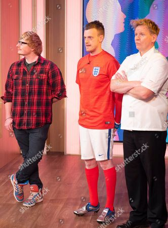 'Lookalikes' - Ed Sheeran (Ty Jones), Jamie Vardy (Lee Chapman) and Gordon Ramsay (Martin Jordan)