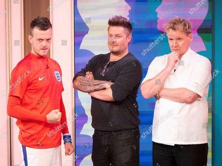 'Lookalikes' - Jamie Vardy (Lee Chapman), Andy Harmer (David Beckham), Gordon Ramsay (Martin Jordan)