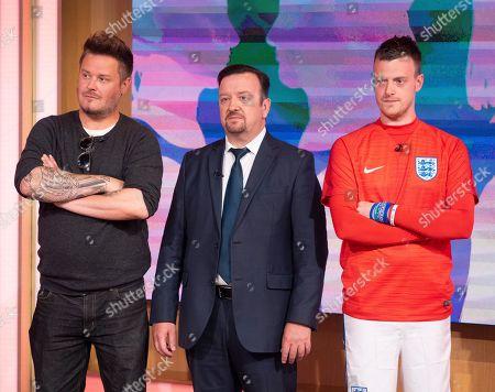 'Lookalikes' - Andy Harmer (David Beckham), Ricky Gervais (Tim Oliver), Jamie Vardy (Lee Chapman)