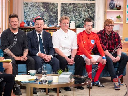 'Lookalikes' - Andy Harmer (David Beckham), Ricky Gervais (Tim Oliver), Gordon Ramsay (Martin Jordan), Jamie Vardy (Lee Chapman), Ed Sheeran (Ty Jones)