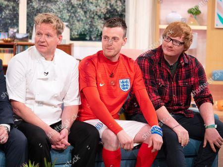 'Lookalikes' - Gordon Ramsay (Martin Jordan), Jamie Vardy (Lee Chapman), Ed Sheeran (Ty Jones)