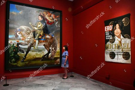 Editorial photo of 'Michael Jackson: On The Wall' exhibition press view, London, UK - 27 Jun 2018
