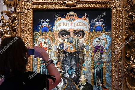 Editorial picture of 'Michael Jackson: On The Wall' exhibition press view, London, UK - 27 Jun 2018