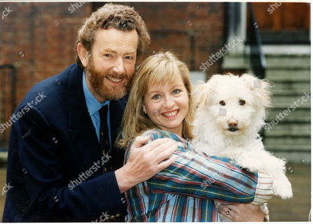 Editorial photo of Liza Goddard Actress Pictured With Her Third Husband David Cobham The Couple's Romance Grew On The Set Of The Children's Television Programme Woof! Goddard Stars In The Show Which Is Directed By Cobham.