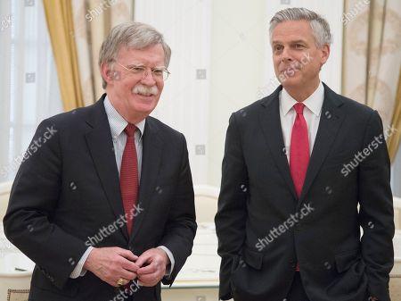 Jon Huntsman Jr and John Bolton