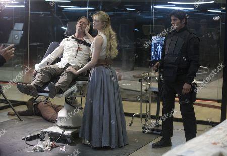 Stock Picture of Louis Herthum, Evan Rachel Wood, James Marsden