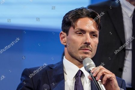 Editorial picture of Mediaset shareholders' meeting, Cologno Monzese, Milan, Italy - 27 Jun 2018
