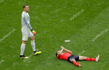 Editorial photo of Russia Soccer WCup South Korea Germany, Kazan, Russian Federation - 27 Jun 2018