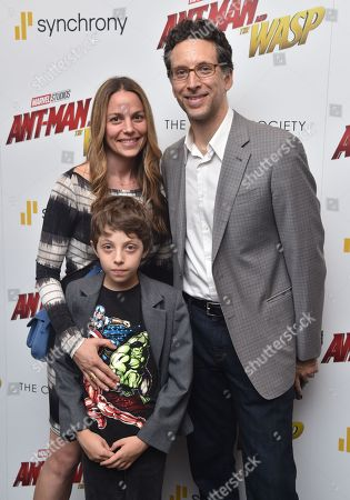 Editorial image of 'Ant-Man and The Wasp' film premiere, Arrivals, New York, USA - 27 Jun 2018