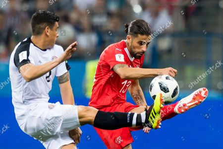 Editorial picture of Group E Switzerland vs Costa Rica, Nizhny Novgorod, Russian Federation - 27 Jun 2018