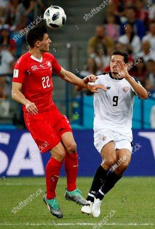 Editorial image of Group E Switzerland vs Costa Rica, Nizhny Novgorod, Russian Federation - 27 Jun 2018