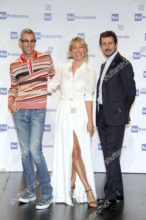 Paolo Kessisoglu Mia Ceran and Luca Bizzarri