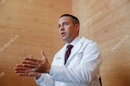 Stock Picture of Shawn Ryan, chief medical officer for BrightView addiction treatment centers, is interviewed at their offices, in downtown Cincinnati