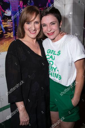Jenna Russell (Helen) and Kaisa Hammarlund (Alison)