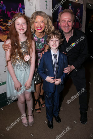 Rua Robertson, Melanie Masson, Ramsay Robertson (John) and Forbes Masson