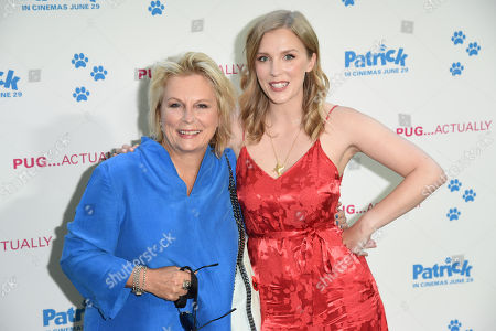 Jennifer Saunders and daughter, Beattie Edmondson