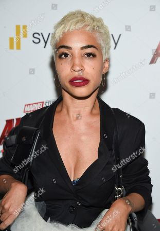 """Jillian Mercado attends a special screening of """"Ant-Man and the Wasp"""" at the Museum of Modern Art, in New York"""