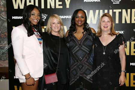 Rayah Houston, Lisa Erspamer (Producer), Pat Houston and Sheila Stepanek