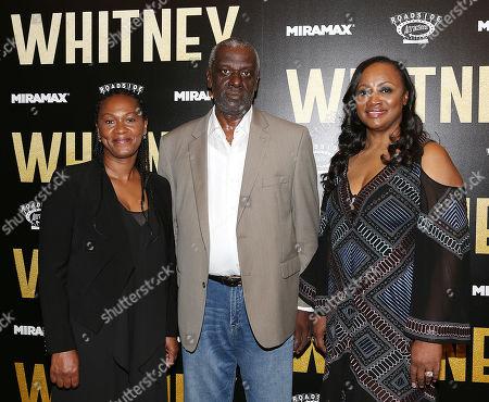 Stock Photo of Donna Houston, Gary Houston and Pat Houston