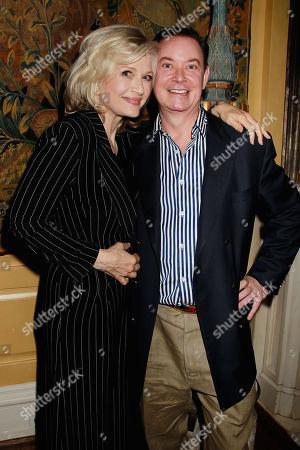 Diane Sawyer and Andrew Solomon