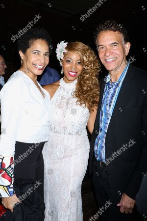 Allyson Tucker, Soara-Joye Ross and Brian Stokes Mitchell