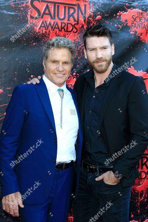 Martin Kove and his son Jesse Kove