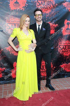 Annie Wersching and husband Stephen Full