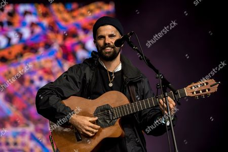 Editorial image of Nick Mulvey, Festival No 6, Portmeirion, Wales, UK - 10 Sep 2017