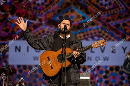 Editorial photo of Nick Mulvey, Festival No 6, Portmeirion, Wales, UK - 10 Sep 2017