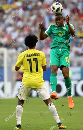 Editorial photo of Group H Senegal vs Colombia, Samara, Russian Federation - 28 Jun 2018