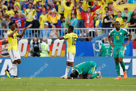 Editorial image of Russia Soccer WCup Senegal Colombia, Samara, Russian Federation - 28 Jun 2018