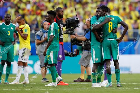 Editorial image of Russia Soccer WCup Senegal Colombia, Samara, Russian Federation - 28 Jun 2018