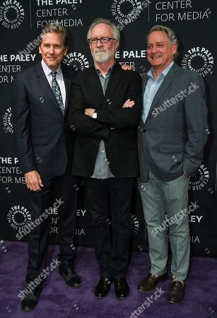 Stock Photo of Tim Matheson, Gary Goetzman and Mike Herzog