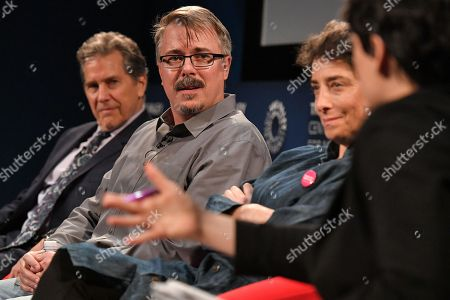 Tim Matheson, Vince Gilligan, Carolyn Strauss and Stacy Wilson Hunt