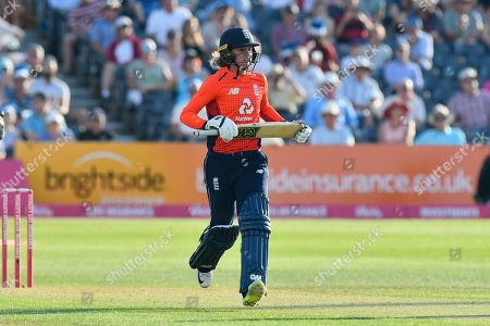 Sarah Taylor of England during the International T20 match between England Women Cricket and New Zealand at the Bristol County Ground, Bristol. Picture by Graham Hunt