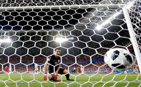 Goalkeeper Aymen Mathlouthi of Tunisia
