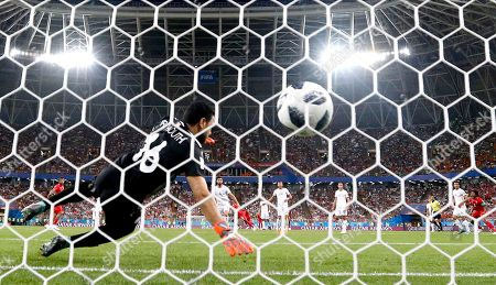 Stock Picture of Goalkeeper Aymen Mathlouthi of Tunisia
