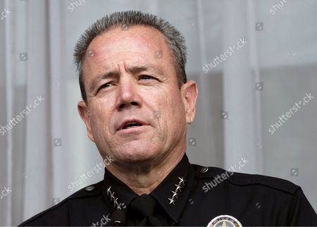 Michel Moore. Los Angeles Police Chief Michel Moore talk after being sworn in at the police academy on. Moore replaces Charlie Beck, who retired Wednesday, June 27, 2018, after more than 40 years with the LAPD. Beck became the chief in 2009