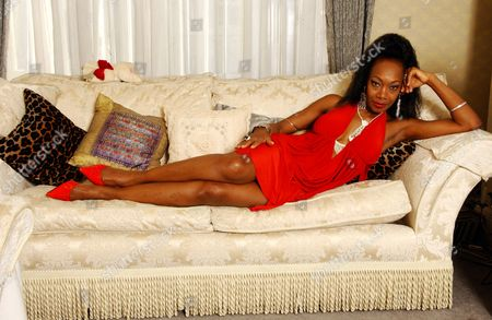 Maizie Williams Of The 70's And 80's Pop Group Boney M Pictured In Her Maida Vale Flat.