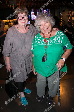 Stock Picture of Jenni Murray and Miriam Margolyes